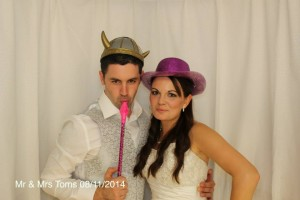Mr & Mrs Toms Wedding Photo Booth