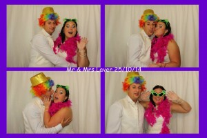 Mr and Mrs Laver Wedding Photo Booth